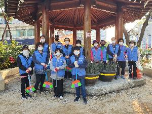 치평동 쌍용금호아파트 싹쓸이 봉사단 청소