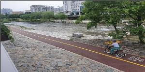 광주서구, 광주천 자전거도로정비 완료